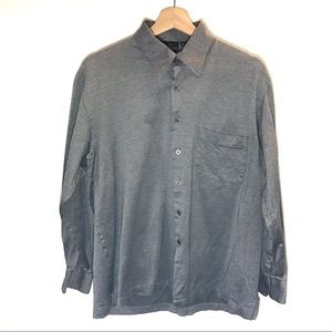 Hickey Freeman Collection Long Sleeve Button Down
